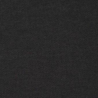 コットン×無地(チャコールブラック)×裏毛ニット サムネイル1