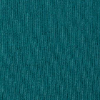 コットン×無地(エメラルドグリーン)×裏毛ニット サムネイル1