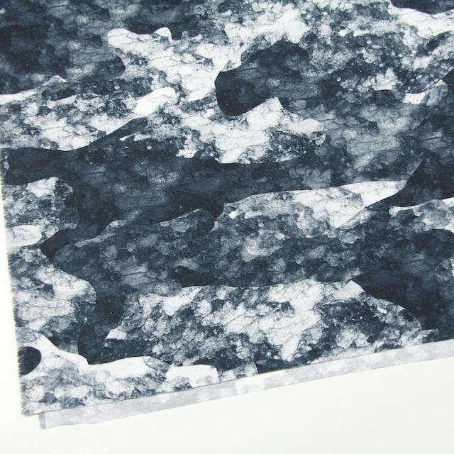 ポリエステル×マーブル(シャドウブルー)×サージ イメージ2