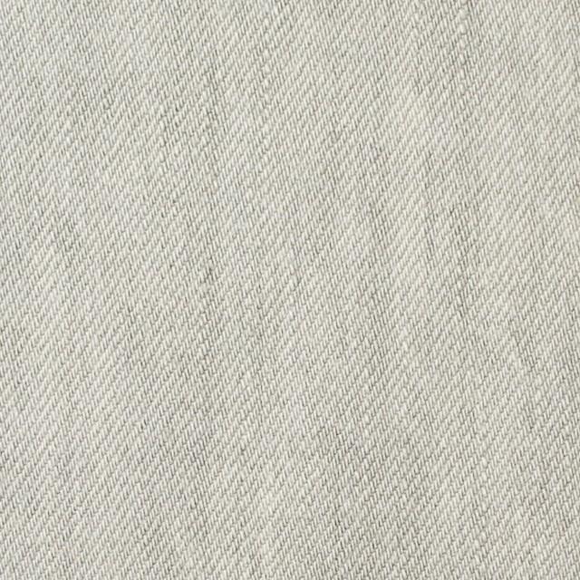 コットン×無地(ライトグレー)×セルビッチデニム イメージ1