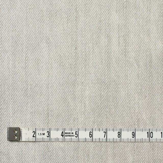 コットン×無地(ライトグレー)×セルビッチデニム イメージ4
