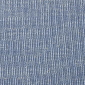 コットン&リネン×無地(ブルー)×ダンガリー サムネイル1