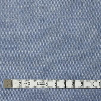 コットン&リネン×無地(ブルー)×ダンガリー サムネイル4