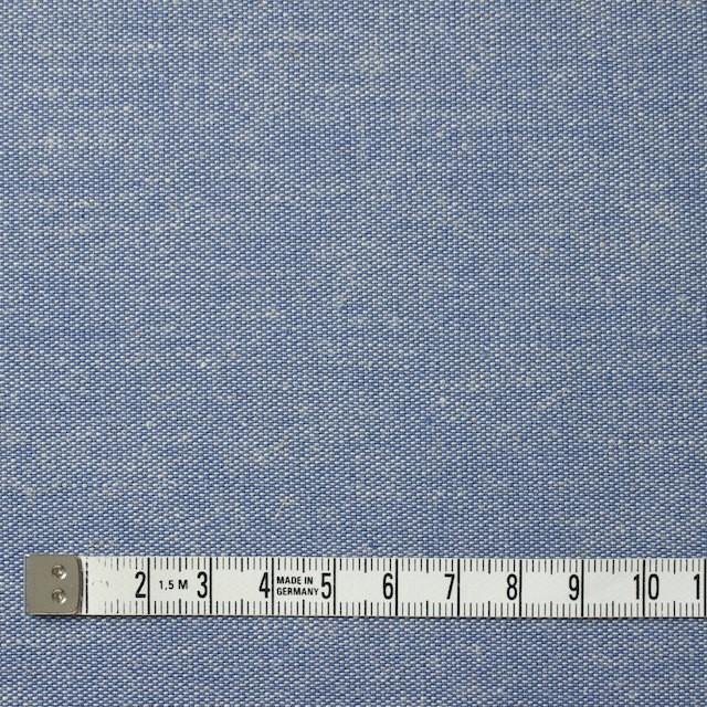 コットン&リネン×無地(ブルー)×ダンガリー イメージ4