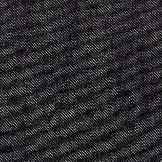 コットン×無地(チャコールブラック)×ソフトデニム イメージ1