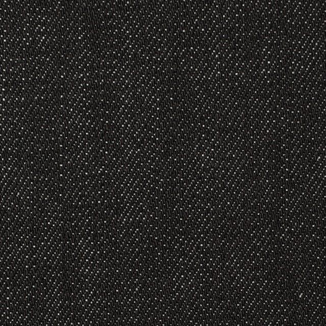 コットン×無地(ブラック)×デニム イメージ1