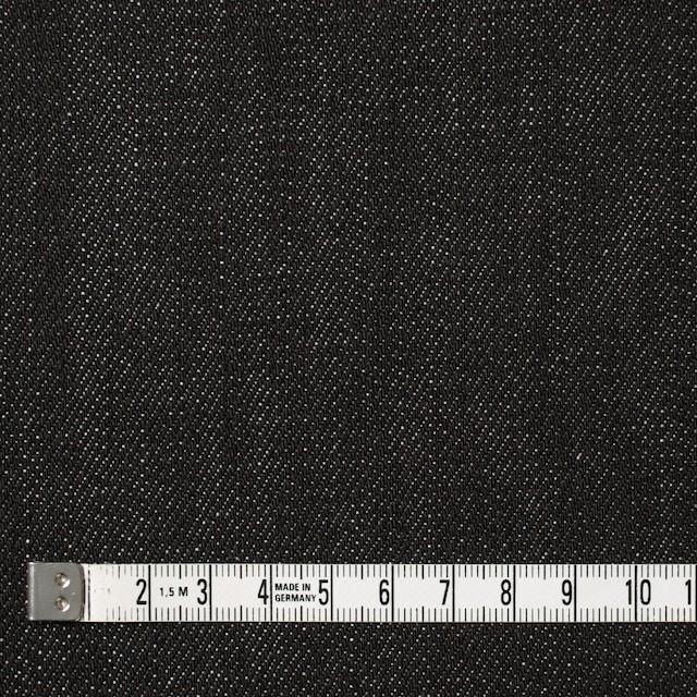 コットン×無地(ブラック)×デニム イメージ4