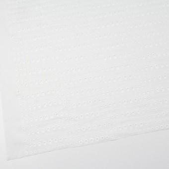 コットン×ドロップ(オフホワイト)×ローン刺繍 サムネイル2