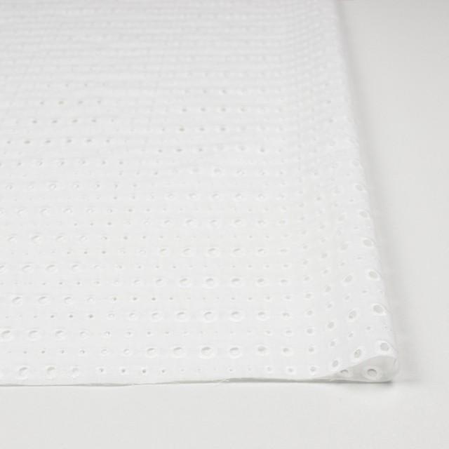 コットン×ドロップ(オフホワイト)×ローン刺繍 イメージ3