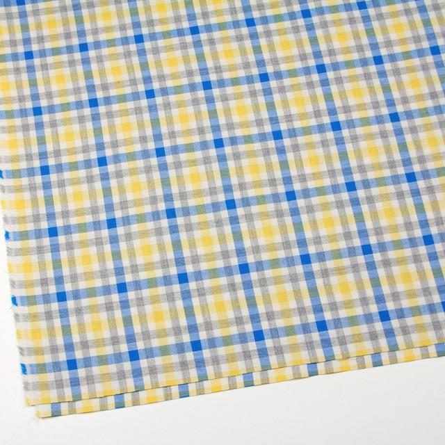 コットン×チェック(イエロー&ブルー)×ビエラ_全3色 イメージ2