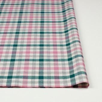 コットン×チェック(ピンク&グリーン)×ビエラ_全3色 サムネイル3