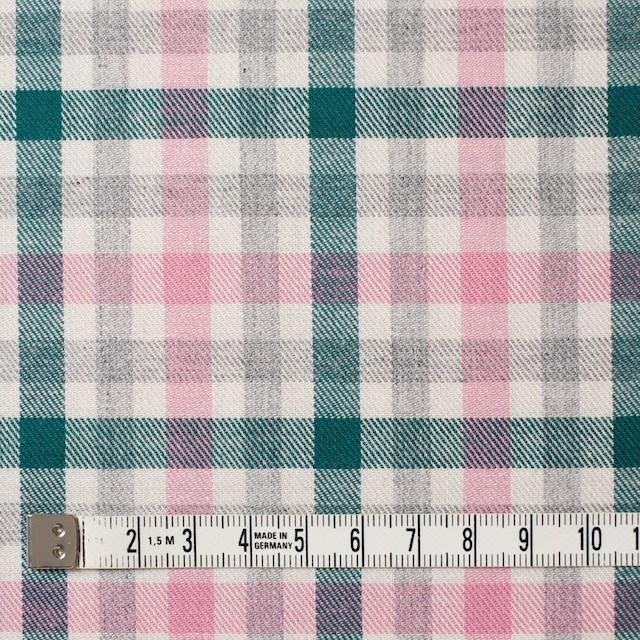 コットン×チェック(ピンク&グリーン)×ビエラ_全3色 イメージ4