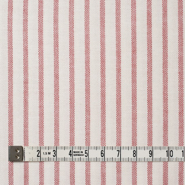 コットン×ストライプ(レッド)×オックスフォード_全3色 イメージ4
