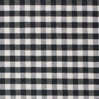 コットン×チェック(ブラック)×オックスフォード_全2色 サムネイル1