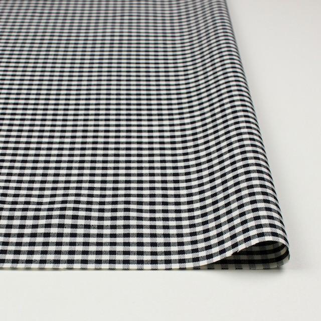 コットン×チェック(ブラック)×オックスフォード_全2色 イメージ3