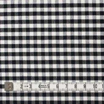 コットン×チェック(ブラック)×オックスフォード_全2色 サムネイル4