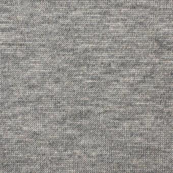 テンセル&レーヨン混×無地(グレー)×天竺ニット