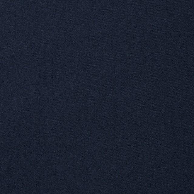 コットン&ポリウレタン×無地(ダークネイビー)×ギャバジンストレッチ イメージ1