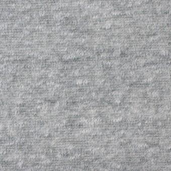 コットン&ポリエステル×無地(グレー)×天竺ニット_全3色