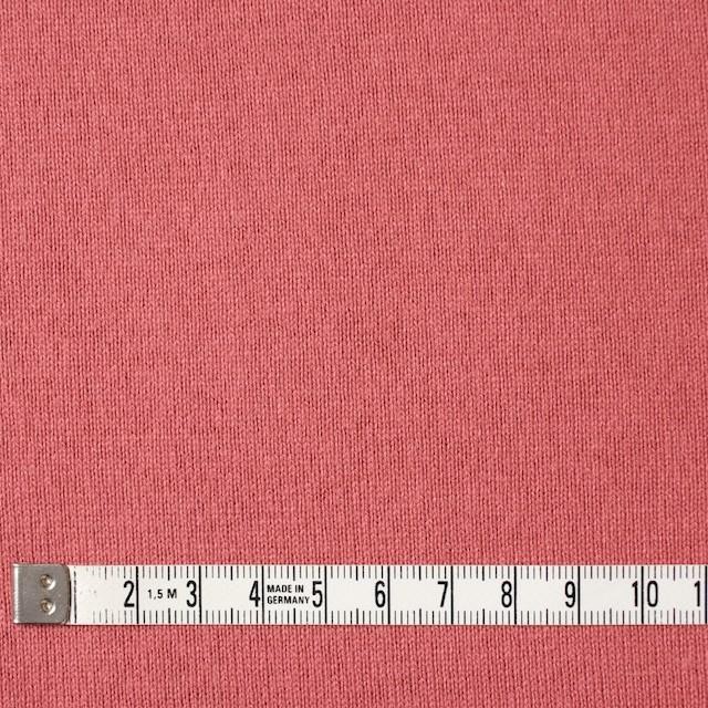 コットン×無地(スカーレット)×天竺ニット_全3色 イメージ4