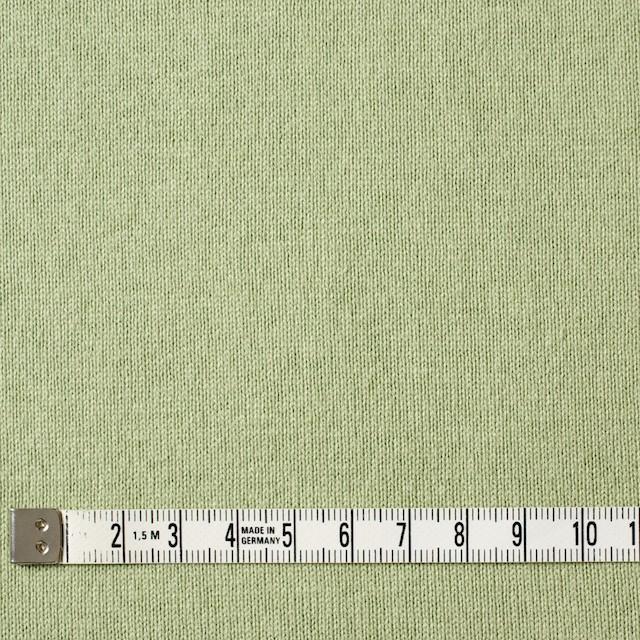 コットン×無地(グリーンティー)×天竺ニット_全3色 イメージ4