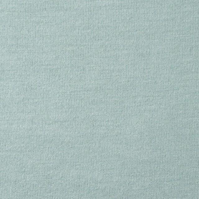 リヨセル&ポリエステル混×無地(アイスグリーン)×天竺ニット イメージ1