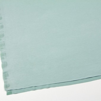 リヨセル&ポリエステル混×無地(アイスグリーン)×天竺ニット サムネイル2