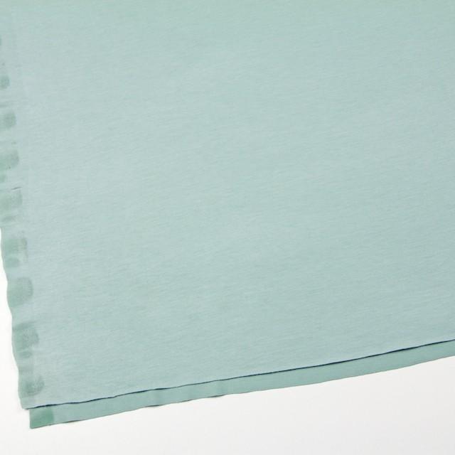 リヨセル&ポリエステル混×無地(アイスグリーン)×天竺ニット イメージ2
