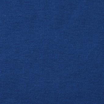 コットン×無地(ロイヤルブルー)×天竺ニット
