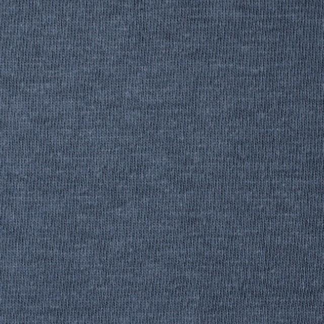 コットン×無地(ブルーグレー)×天竺ニット イメージ1