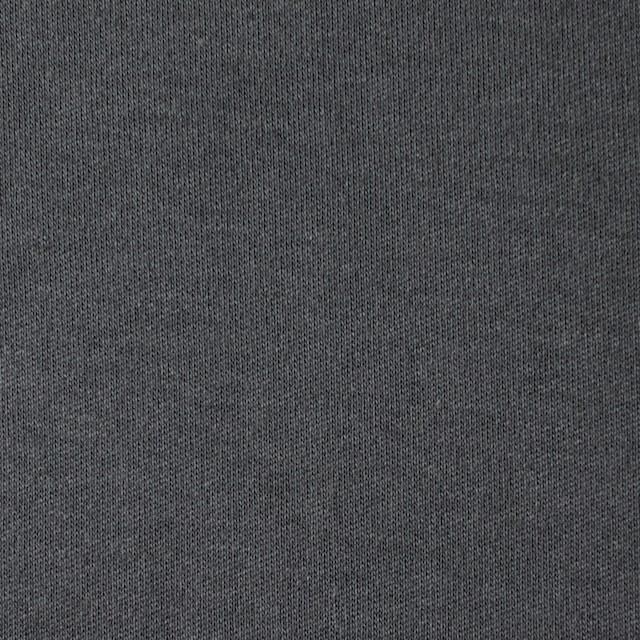 コットン×無地(スレートグレー)×スムースニット イメージ1