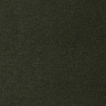 コットン×無地(モスグリーン)×フライスニット サムネイル1