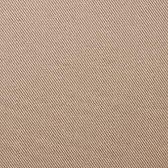 コットン×無地(ウォームベージュ)×チノクロス サムネイル1
