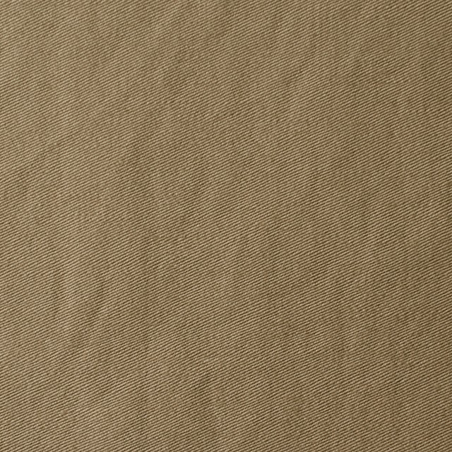コットン×無地(カーキベージュ)×サージワッシャー_全2色 イメージ1
