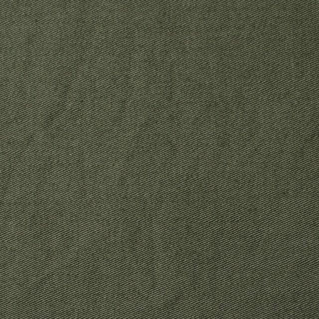 コットン×無地(カーキグリーン)×サージワッシャー_全2色 イメージ1