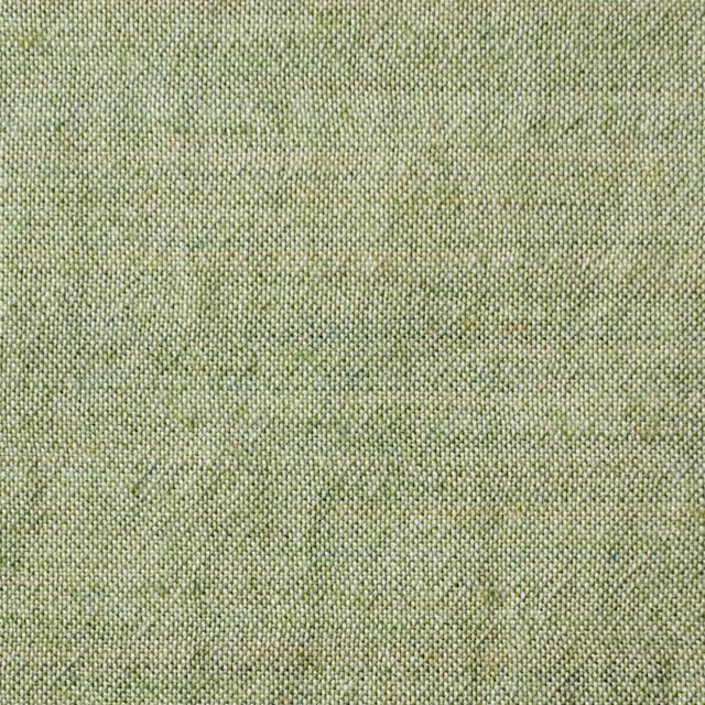 ウール&コットン×無地(グリーンティー)×起毛シャンブレー_全3色 イメージ1