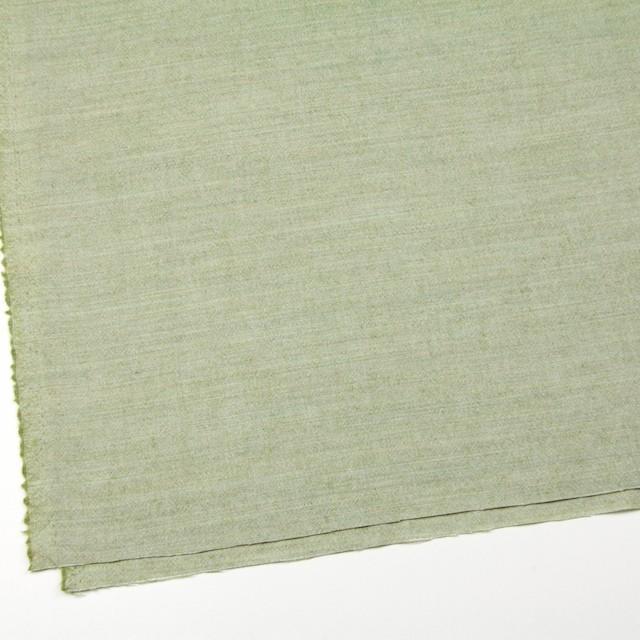 ウール&コットン×無地(グリーンティー)×起毛シャンブレー_全3色 イメージ2