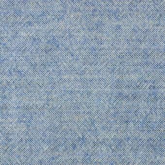 ウール&コットン×無地(サックス)×起毛シャンブレー_全3色 サムネイル1