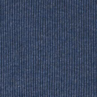 コットン×無地(アイアンブルー)×丸編みリブニット_全3色 サムネイル1
