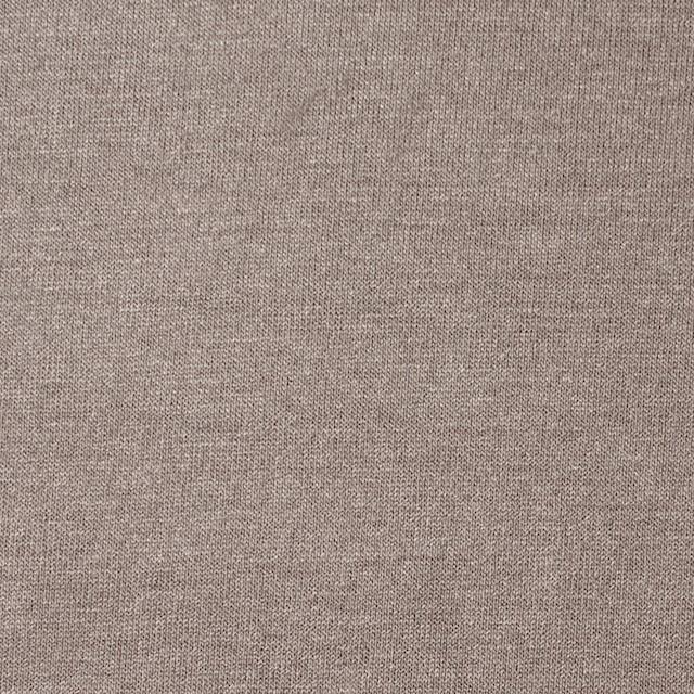 コットン&リヨセル混×無地(ローズグレー)×天竺ニット_全4色 イメージ1