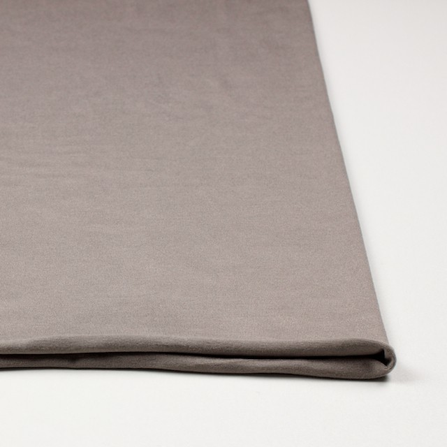 コットン&リヨセル混×無地(ローズグレー)×天竺ニット_全4色 イメージ3