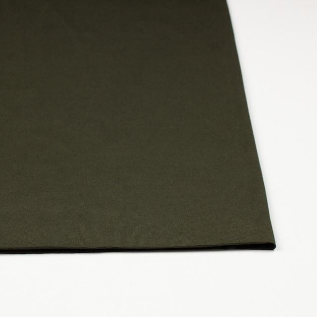 コットン&リヨセル混×無地(カーキグリーン)×天竺ニット_全4色 イメージ3
