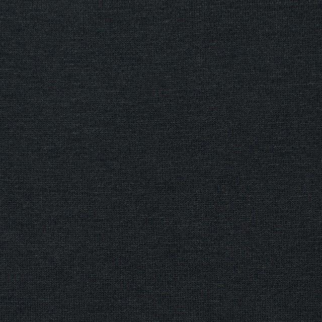 コットン&リヨセル混×無地(ブラック)×天竺ニット_全4色 イメージ1