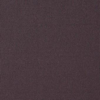 コットン×無地(グレイッシュパープル)×フライスニット_全2色