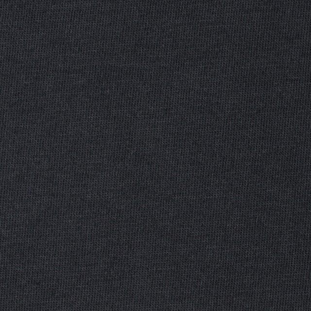 コットン×無地(ダークスレートグレー)×天竺ニット イメージ1