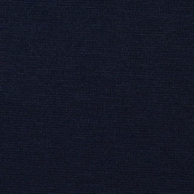 コットン&リヨセル×無地(ダークネイビー)×スムースニット イメージ1