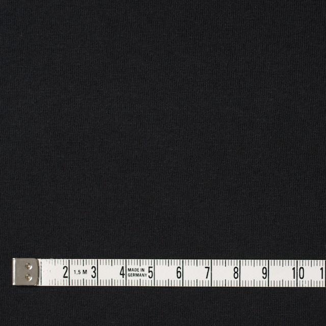 コットン×無地(ブラック)×天竺ニット イメージ4