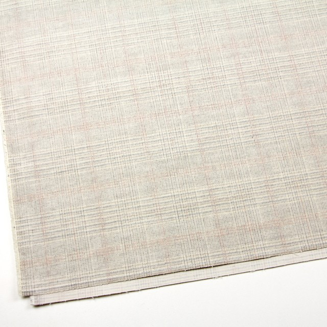 コットン&ポリウレタン×チェック(キナリ)×細コーデュロイ・ストレッチ イメージ2