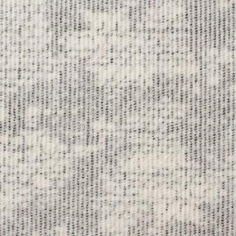 コットン&ポリウレタン×幾何学模様(ライトグレー)×細コーデュロイ・ストレッチ