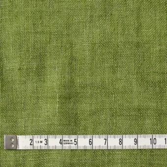 リネン×無地(グリーン)×ガーゼ_全5色_イタリア製 サムネイル4